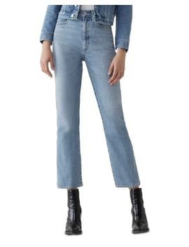 Pinch Waist Kick Flare Jeans In Impression by Agolde