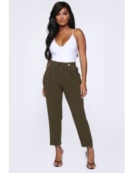 meet-me-there-pants---olive by fashion-nova