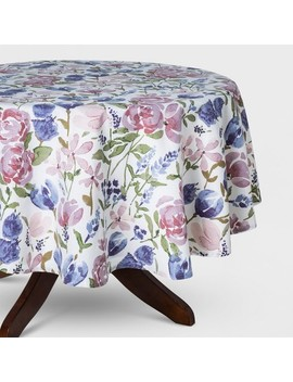 Floral Tablecloth   Threshold by Threshold