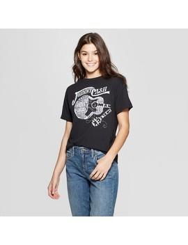 Women's Johnny Cash Short Sleeve T Shirt   (Juniors')   Black by Shirt