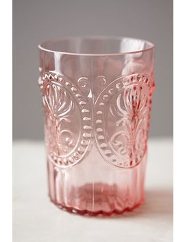 Fleur De Lys Tumblers, Set Of 4 by Anthropologie
