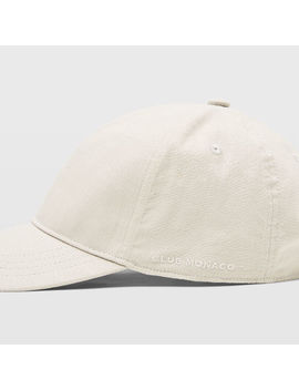 Linen Blend Baseball Cap by Club Monaco