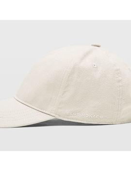 Linen Blend Baseball Cap by Club Monaco