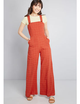 Ahead Of Schedule Jumpsuit by Modcloth