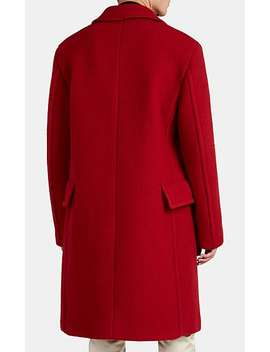 Virgin Wool Mohair Felt Coat by Raf Simons