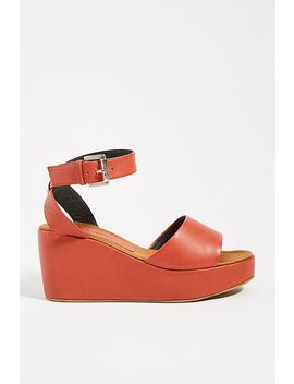 Rachel Comey Juno Leather Wedge Sandals by Rachel Comey
