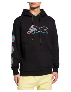Men's Chocolate Graphic Pullover Hoodie by Icecream