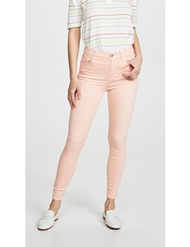 High Rise Skinny Jeans by 7 For All Mankind