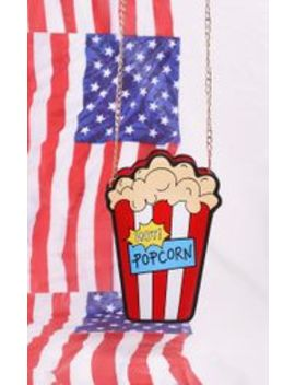 Multi Hot Popcorn Cross Body Bag by Prettylittlething
