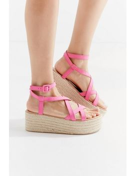 Uo Sierra Strappy Espadrille Sandal by Urban Outfitters