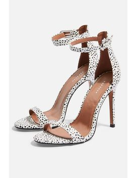 Susie Monochrome Two Part Skinny Heels by Topshop
