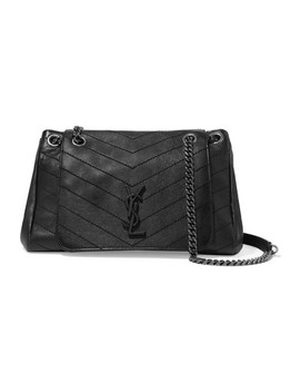 Nolita Large Quilted Leather Shoulder Bag by Saint Laurent
