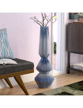 Whitham Tri Floor Vase by Brayden Studio