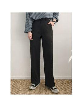 Michyeora   High Waist Wide Leg Dress Pants by Michyeora