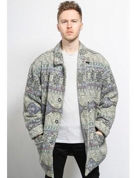 Vintage Aztec Inca Jacket by 619 Vintage