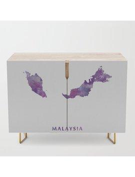 Malaysia Credenza by Society6