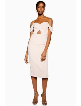 Cut Out Bardot Dress by Topshop