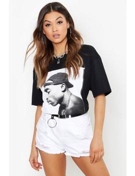 Oversized Tupac T Shirt by Boohoo