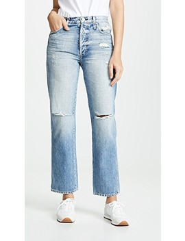 Layla High Rise Straight Jeans by Amo