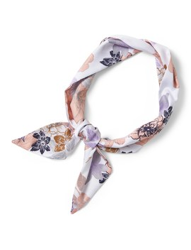 Floral Skinny Scarf by Banana Repbulic