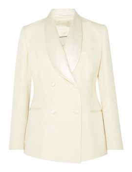 Dorothea Double Breasted Wool Blazer by Giuliva Heritage Collection