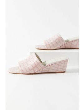 Intentionally Blank Hey Jessica Mule Wedge by Intentionally Blank