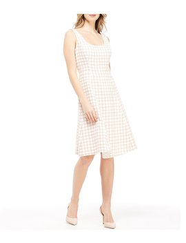 Evangeline Cher Plaid Boucle Dress by Gal Meets Glam Collection