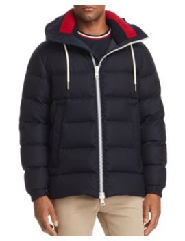 Gartempe Knit Collar Down Jacket by Moncler