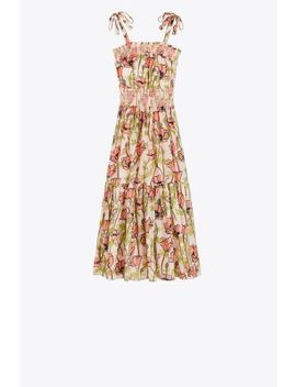 Printed Cotton Maxi Dress by Tory Burch