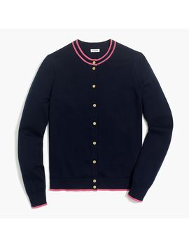 Tipped Caryn Cardigan Sweater by J.Crew