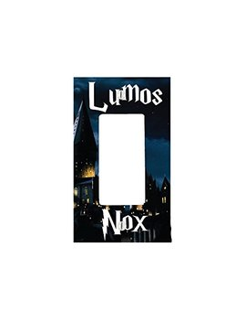 Eand M Lumos Nox 1 Gang Decorator Dimmer Wall Plate (2.94 X 4.69in) by Eand M