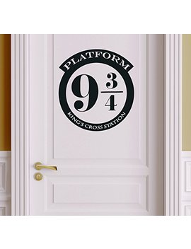 Platform 9 3/4 Version 1 Harry Potter Decor   Wall Decal Vinyl Sticker W20 12'x11' (Message For Color) by Idecalworks