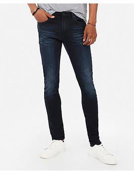 Super Skinny Dark Wash Hyper Stretch Jeans by Express