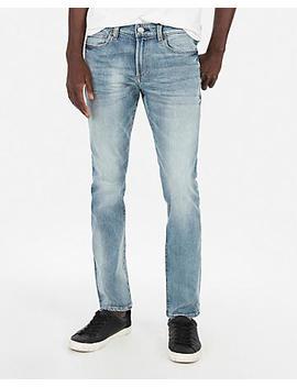 Super Skinny Medium Wash Hyper Stretch Jeans by Express
