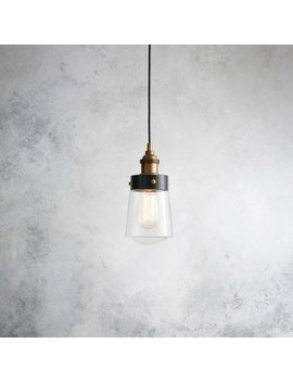 Poplar 1 Light Geometric Pendant by Trent Austin Design
