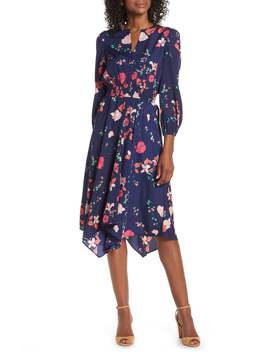 Poet Sleeve Smock Waist Dress by Eliza J