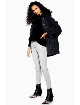 Pale Grey Jamie Jeans by Topshop