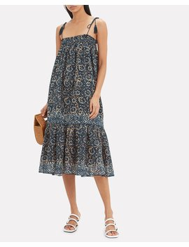Eugenia Floral Dress by Ulla Johnson