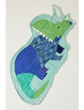 Natasha Durley Dinosaur Rug by Anthropologie