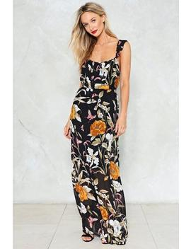 Love Me Or Leaf Me Maxi Dress by Nasty Gal