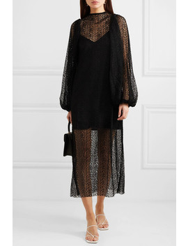 Cohen Corded Lace Midi Dress by Beaufille