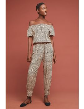 Luzen Off The Shoulder Jumpsuit by Beachgold