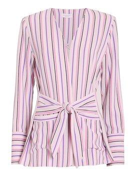 Selma Striped Blazer by Hofmann Copenhagen