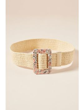 Laura Woven Waist Belt by Linea Pelle