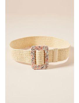 Laura Woven Waist Belt by Linea Pelle