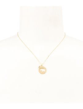 Elephant Pendant Necklace by Kate Spade New York
