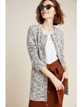 Leopard Longline Jacket by Dolan Left Coast