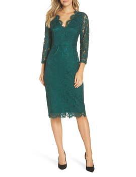Lace Sheath Dress by Harper Rose