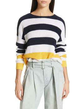 Stripe Linen Sweater by Polo Ralph Lauren