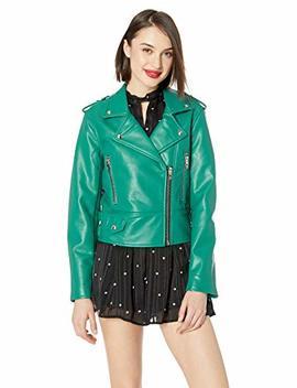 [Blanknyc] Blank Nyc Women's Vegan Leather Moto Jacket by 5 Bblanknyc5 D